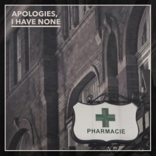 ApologiesIHaveNone_Pharmacie_Cover.jpg