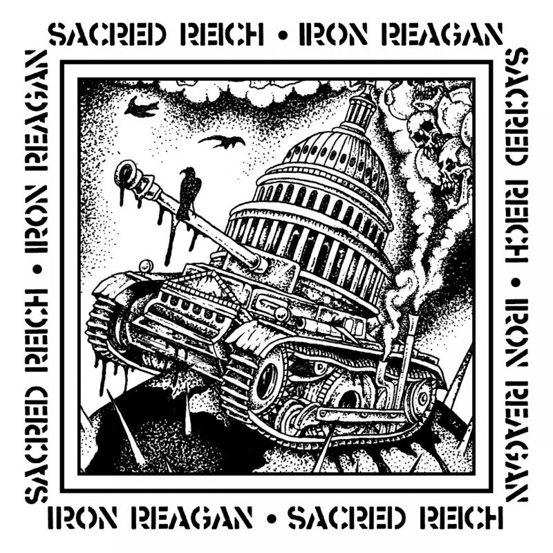Sacred Reich Iron Reagan Cover