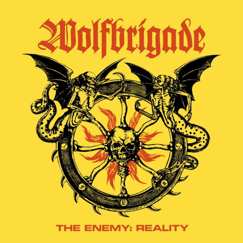 WOLFBRIGADE - Enemy The Reality-Cover
