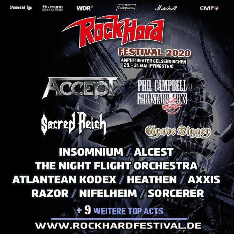 Roch Hard Festival 2020 Plakat