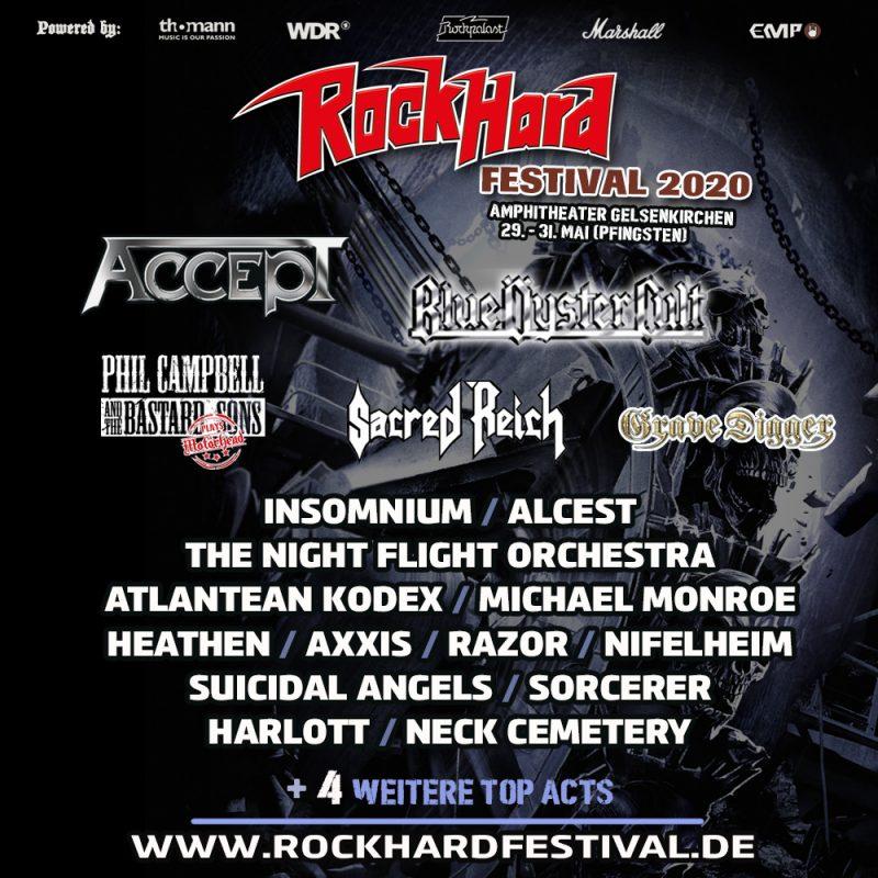 Rock Hard Festival 2020 Blüe Oyster Cult