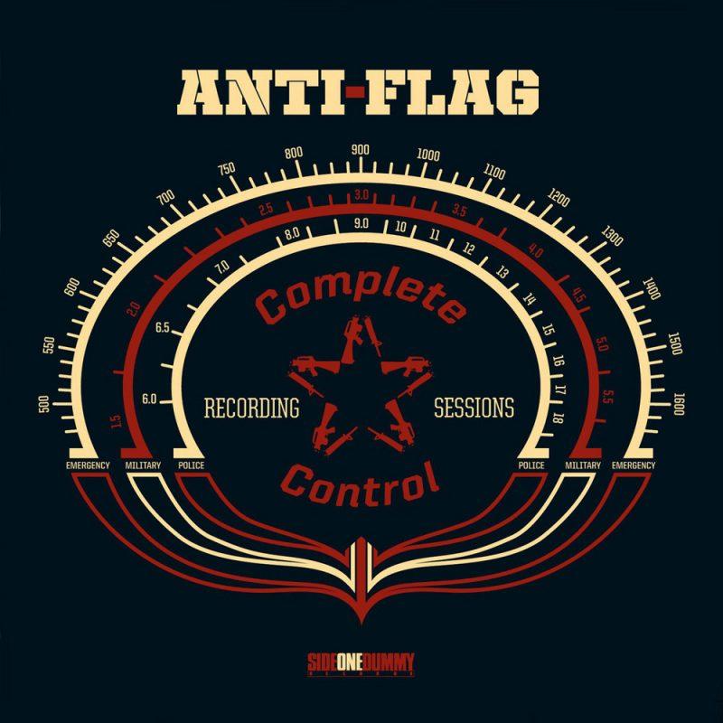 Anti-Flag complete-control recording sessions cober
